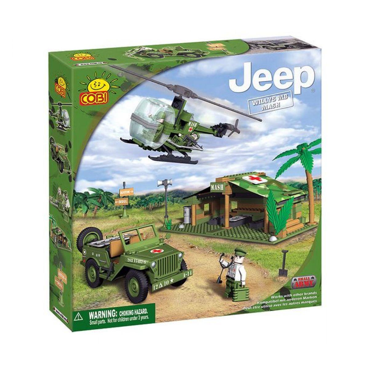 Cobi Jeep 24300 Jeep Willys polní nemocnice