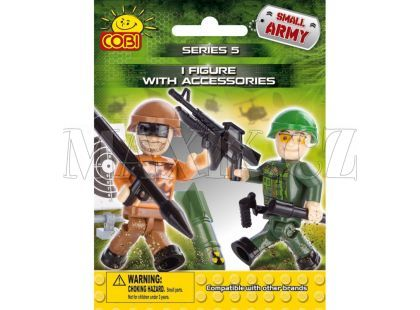 Cobi Malá armáda 2005 Figurka s doplňky v sáčku