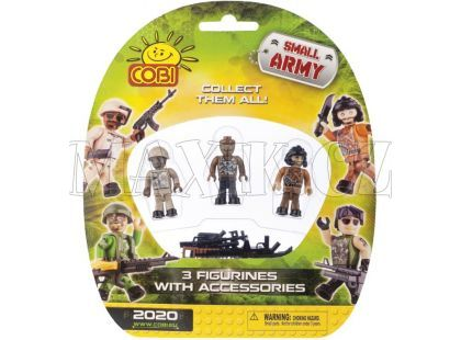 Cobi Malá armáda 2020 Tři figurky v blistru