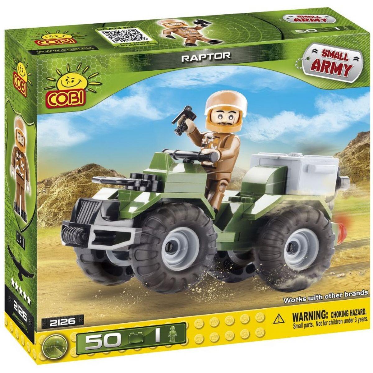 Cobi Malá armáda 2126 Průzkumné vozidlo Raptor