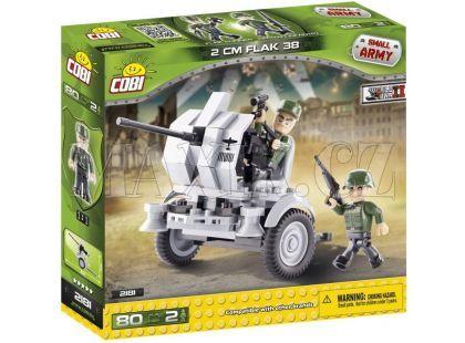Cobi Malá armáda 2181 Protiletadlové dělo Flak 38