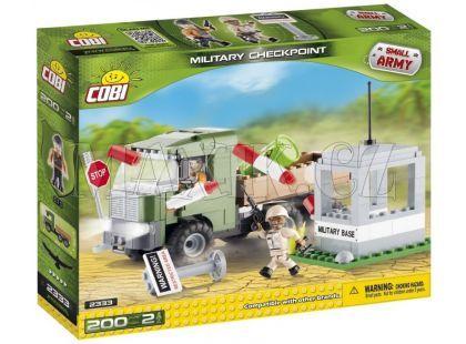 Cobi Malá armáda 2333 Vojenské kontrolní stanoviště