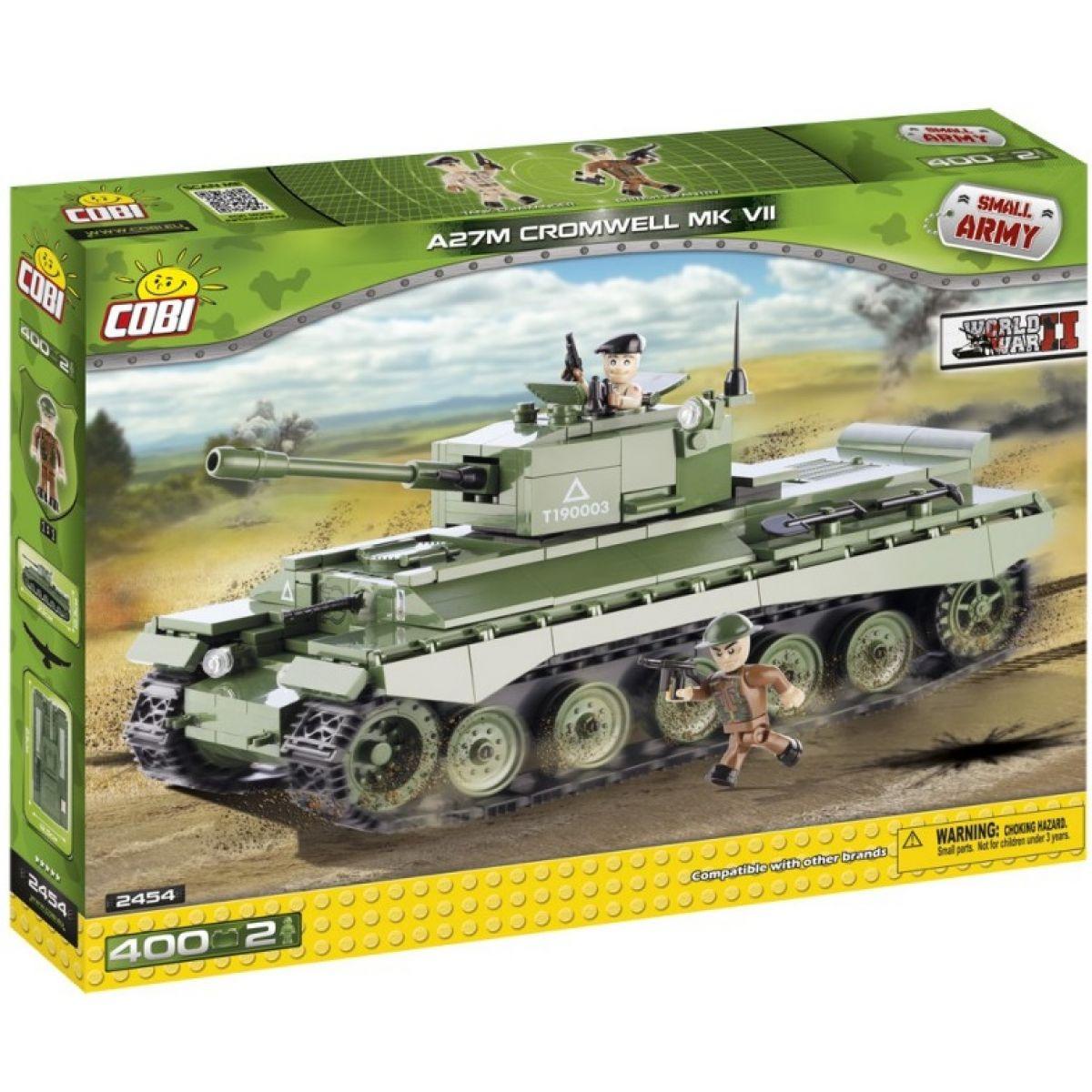 Cobi Malá armáda 2454 Tank A27M Cromwell MK VII