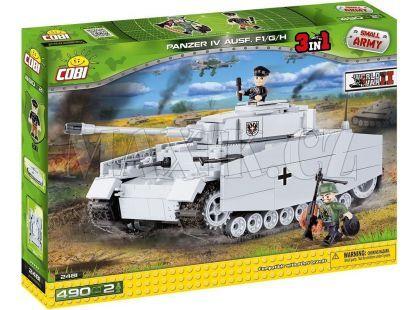 Cobi Malá armáda 2481 Tank Panzer IV Ausf. F1/G/H