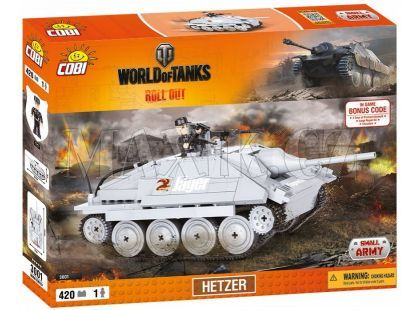 Cobi Malá armáda 3001 World of Tanks Hetzer