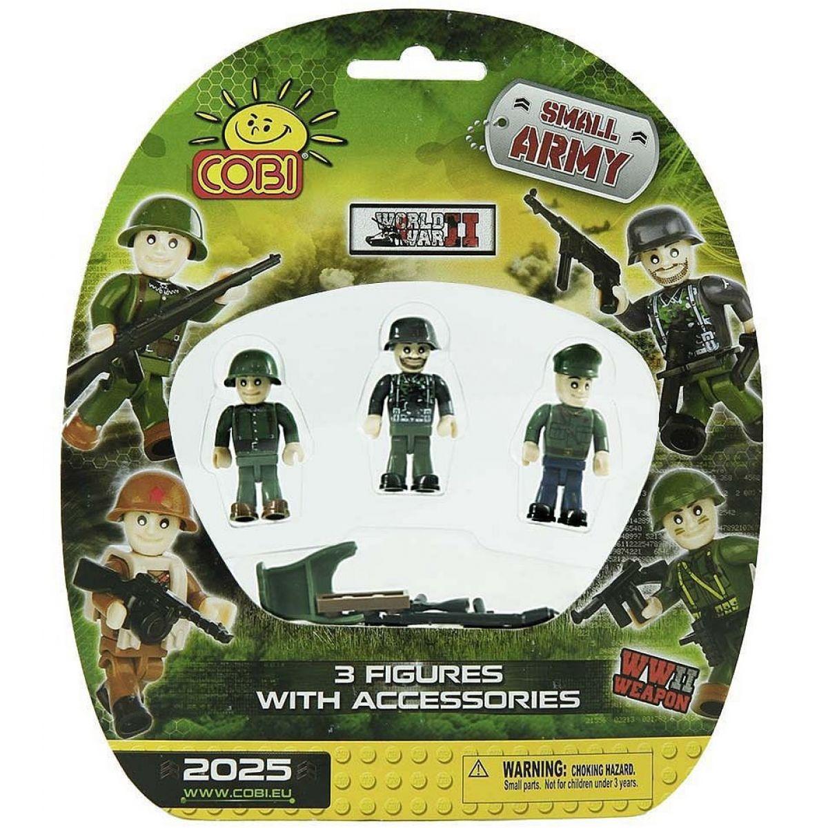 Cobi Malá armáda 2025 Tři figurky v blistru