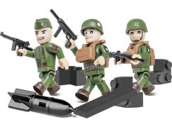 Cobi Malá armáda 2033 Tři figurky s doplňky Americká letecká divize