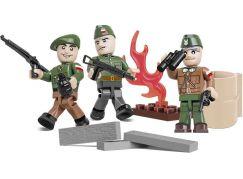 Cobi Malá armáda 2035 Tři figurky s doplňky Varšavské povstání