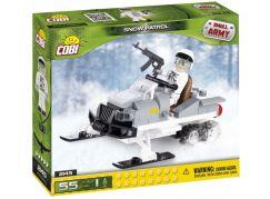 Cobi Malá armáda 2145 Sněžný skútr