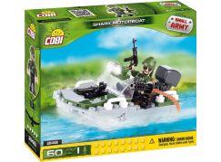 Cobi Malá armáda 2148 Motorový člun Shark