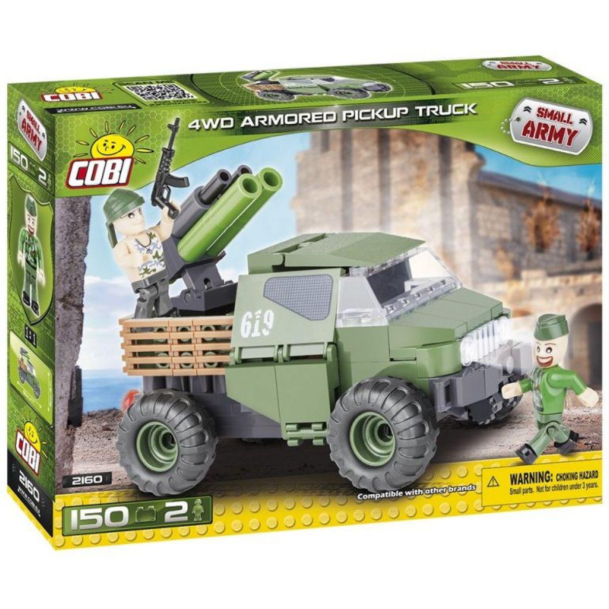 Cobi Malá armáda 2160 4WD Pickup