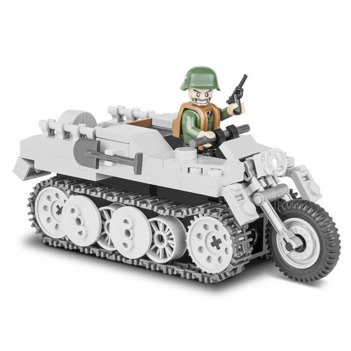 Cobi Malá armáda 2168 II WW SdKfsz 2 NSU HK-101