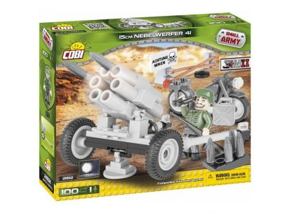 Cobi Malá armáda 2182 Raketomet Nebelwerfer