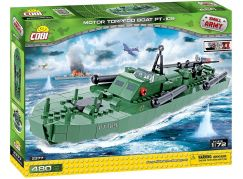 Cobi Malá armáda 2377 II WW Torpédoborec PT-109, 1:72, 480 kostek
