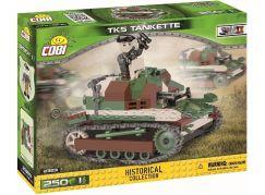 Cobi Malá armáda 2383 II WW TKS Tankette