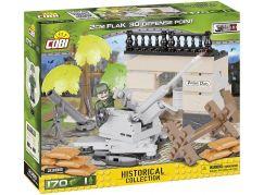 Cobi Malá armáda 2388 II WW 2 cm Flak 30 protiletadlové stanoviště