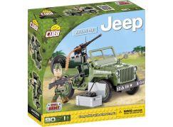 Cobi Malá armáda 24092 JEEP Willys MB