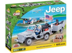 Cobi Malá armáda 24193 Jeep Willys MB US Navy