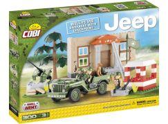 Cobi Malá armáda 24302 JEEP Willys MB