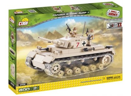 Cobi Malá armáda 2451 Tank Panzer III ausf J