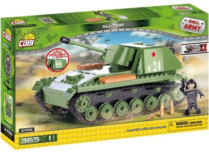 Cobi Malá armáda 2458 Samohybné dělo SU-76M