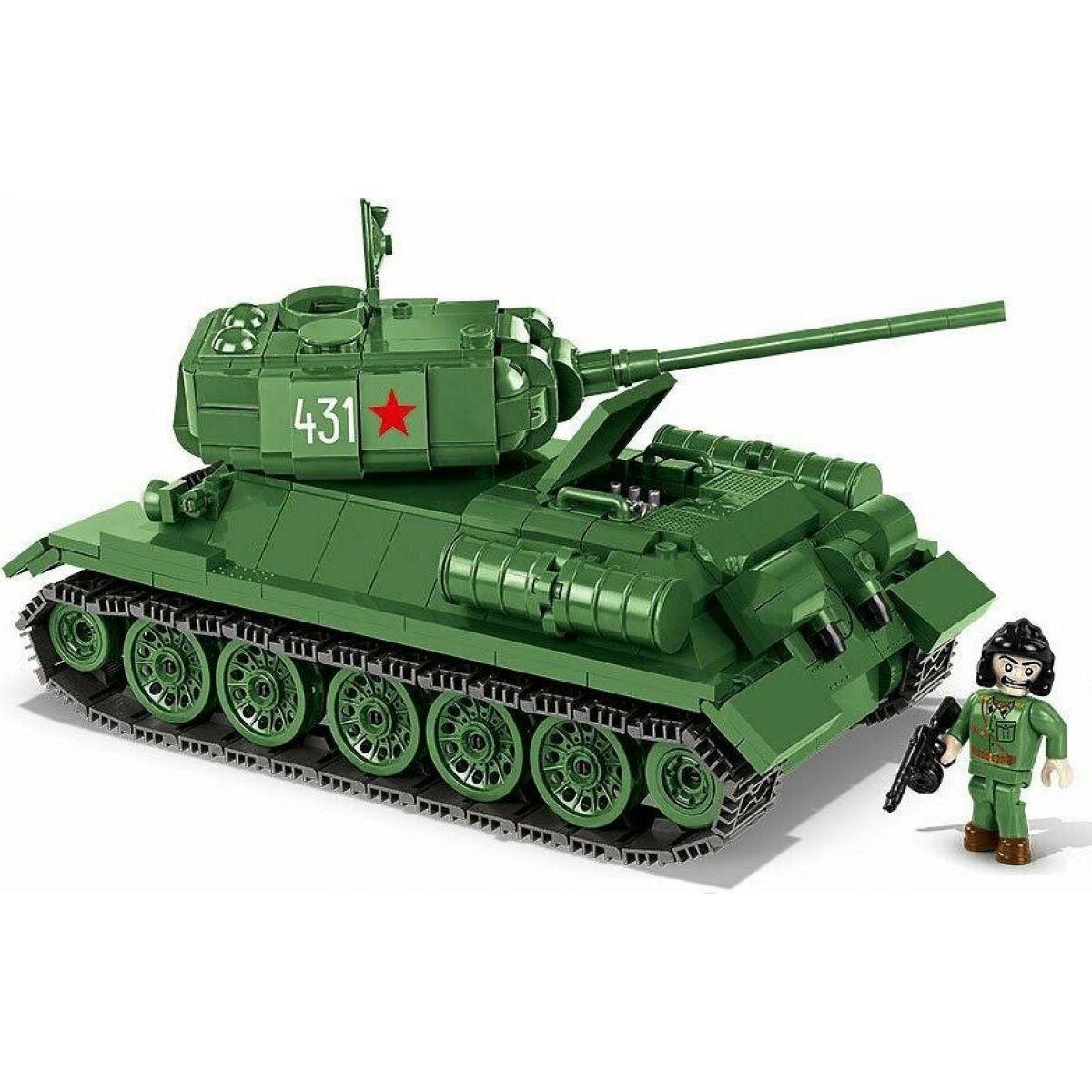 Cobi Malá armáda 2476 T34-85 m 1944