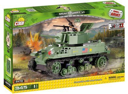 Cobi Malá armáda 2478 M5A1 Stuart VI