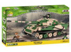 Cobi Malá armáda 2480 Tank SD.KFZ. 182 Konigstiger Porsche Turret