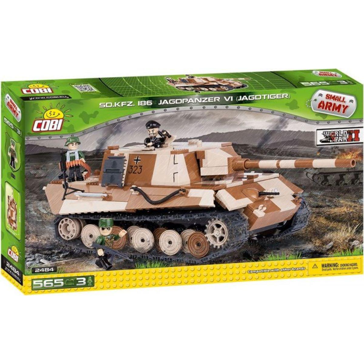 Cobi Malá armáda 2484 II WW Jagdpanzer VI Jagdtiger