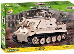 Cobi Malá armáda 2513 II WW 38 cm Sturnnorser Sturmtiger