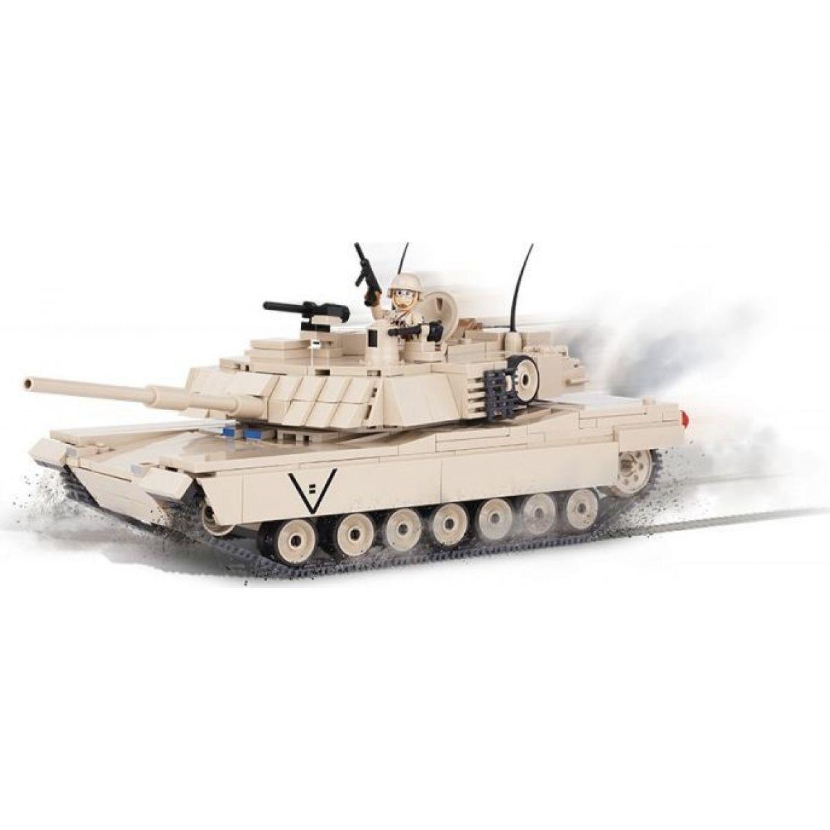 Cobi Malá armáda 2608 M1A2 Abrams - Poškozený obal