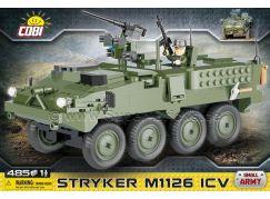 Cobi Malá armáda 2610 Kolový obrněný transportér STRYKER M1126