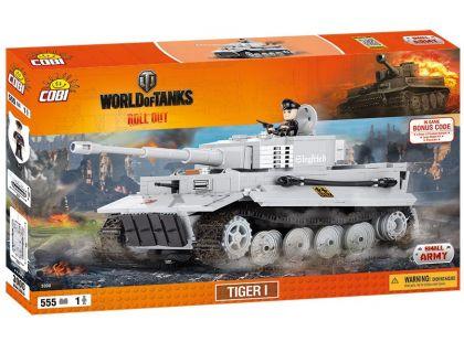 Cobi Malá armáda 3000 World of Tanks Tiger I