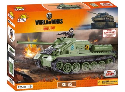 Cobi Malá armáda 3003 World of Tanks SU-85