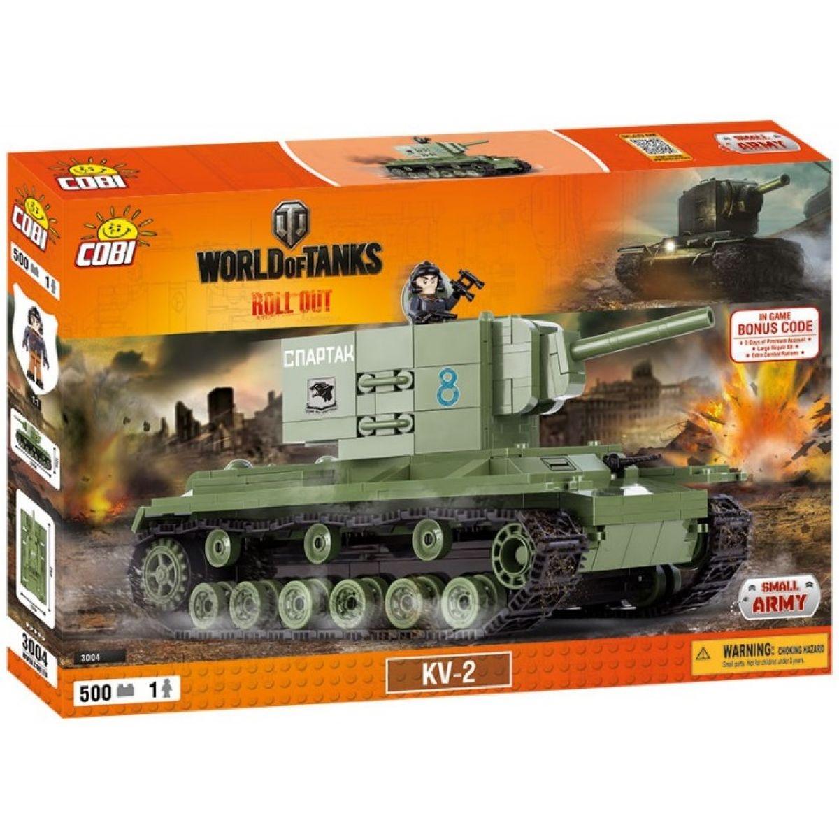 Cobi Malá armáda 3004 World of Tanks KV-2