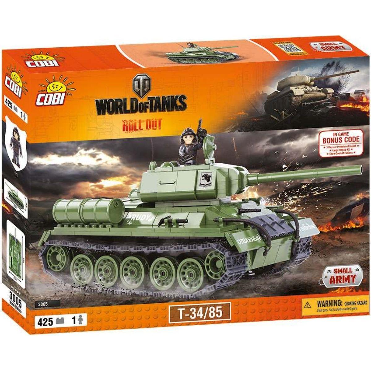 Cobi Malá armáda 3005 World of Tanks T-34