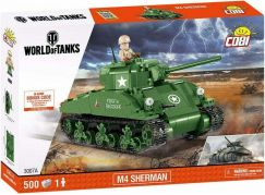 Cobi Malá armáda 3007A World of Tanks M4 Sherman A1