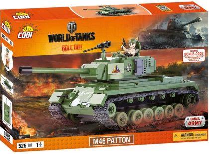 Cobi Malá armáda 3008 World of Tanks M46 Patton