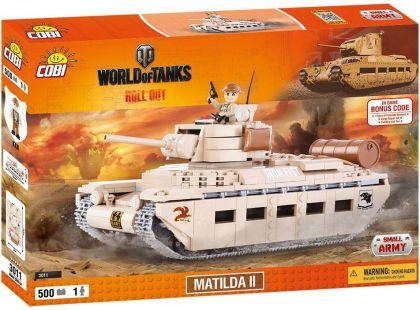 Cobi Malá armáda 3011 World of Tanks Matilda II