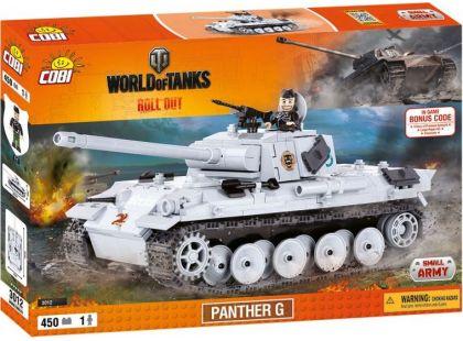 Cobi Malá armáda 3012 Panther V Ausf G