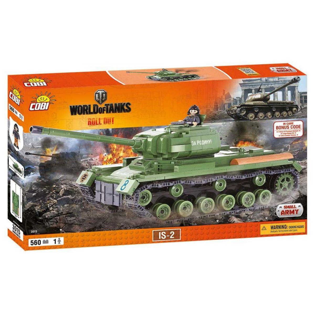 Cobi Malá armáda 3015 Tank IS-2