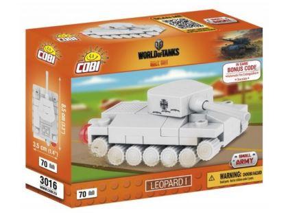 Cobi Malá armáda 3016 World of Tanks Nano Tank Leopard I