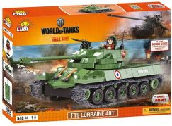 Cobi Malá armáda 3025 World of Tanks F19 Lorraine 40t