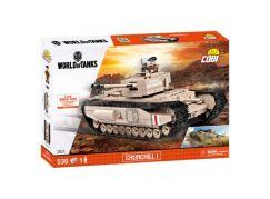 Cobi Malá armáda 3031 World of Tank Churchill I - Poškozený obal