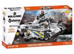 Cobi Malá armáda 3034 World of Tanks Sabaton Primo Victoria - Poškozený obal