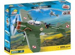 Cobi Malá armáda 5522 II WW PZL P-23B Karas