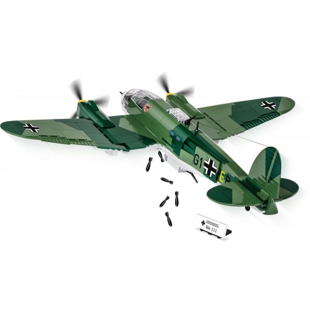 Cobi Malá armáda 5534 II WW Heinkel HE 111 P-4