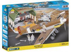 Cobi Malá armáda 5544 II WW Messerschmitt BF 109 Africká mise