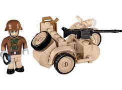 Cobi Malá armáda II. světová válka 2397 BMW R75 se sajdkárou