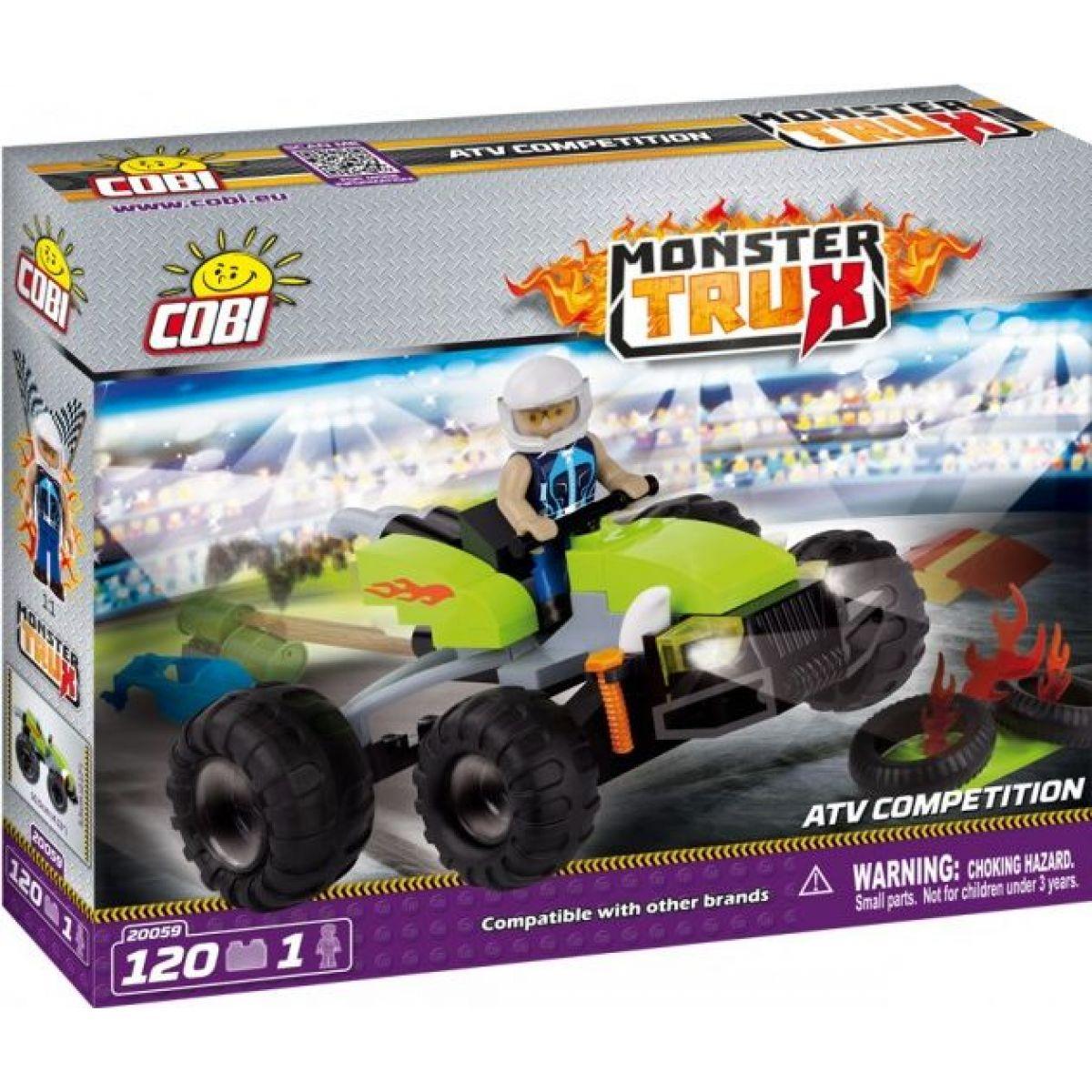 Cobi Monster Trux Závodní auto ATV Competition